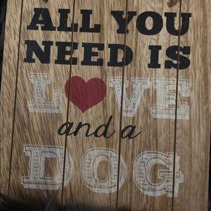 Wall Art - Dog sign decor 🐾